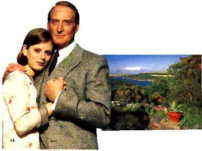 Charles Dance and Emilia Fox in Rebecca